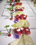 Apfel-mariniert-Speck-Krenfllung